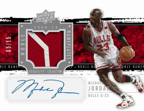 Upper Deck Business to Business Company News – Michael Jordan Birthday Card